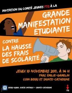 Grande Manifestation étudiante