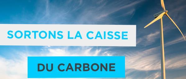Sortons la Caisse du carbonne
