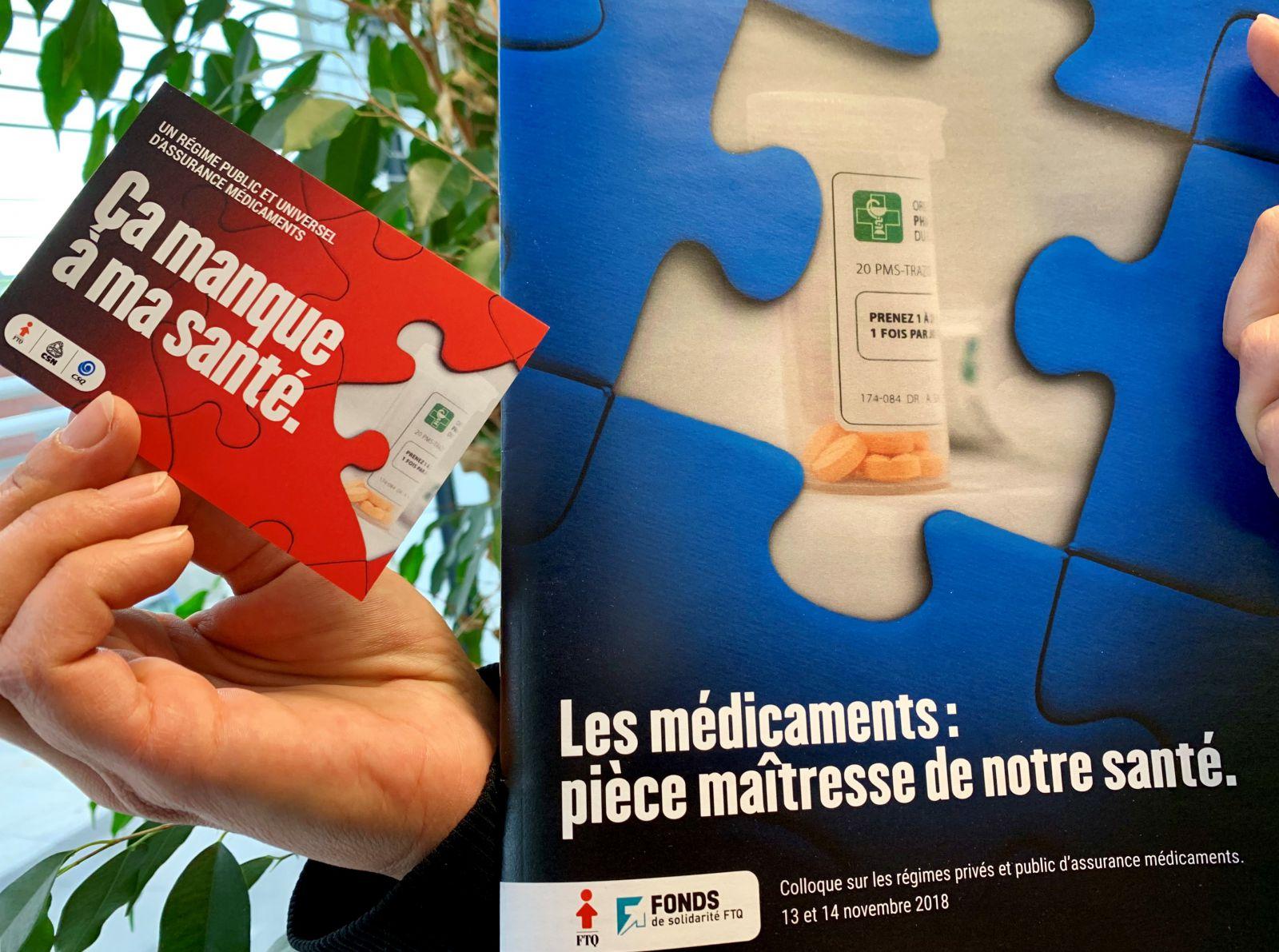 Régime public et universel d'assurance médicaments @ 2e étage, Salles Louis-Laberge