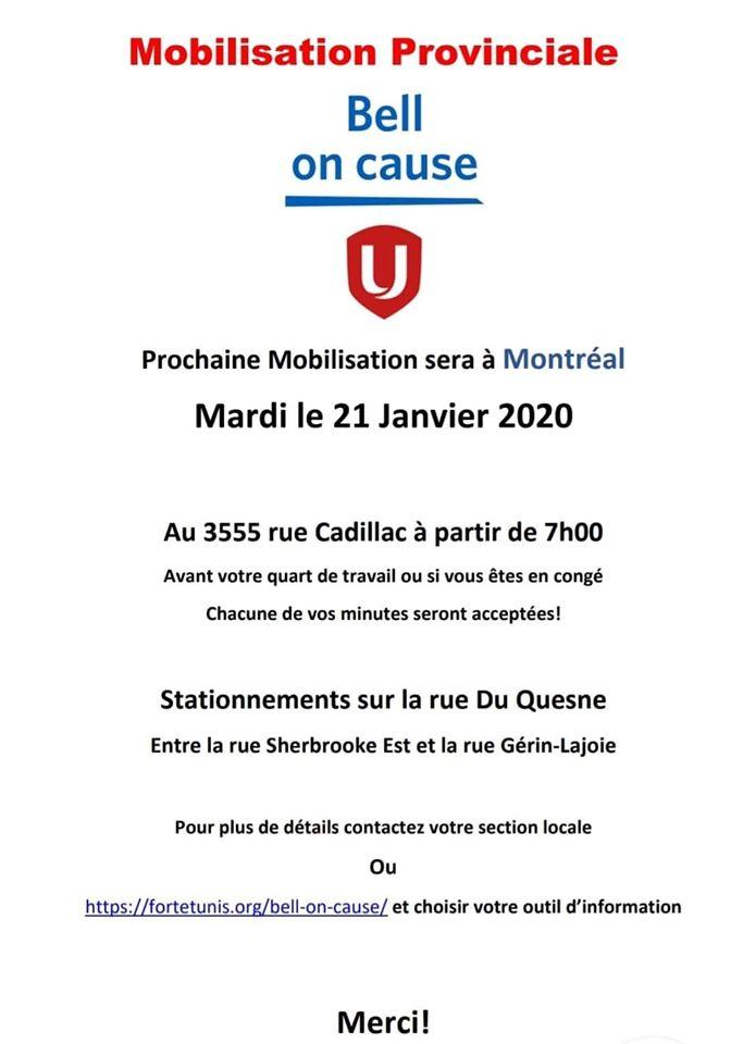 Mobilisation provinciale