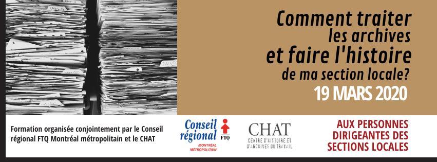 Cours Archives - 19 mars 2020 (CRFTQMM et CHAT)