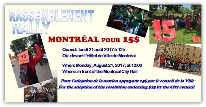 Montréal pour 15$